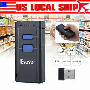 Bluetooth 4 0 Laser Barcode Scanner Reader For Ios Android Windows 7 8 Us Stock