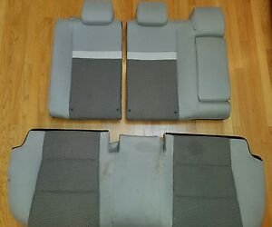 2012 2014 Toyota Camry Rear Seats Used Some Washing On The Lower Seat Needed