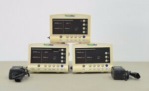 Lot Of 3 Welch Allyn 52000 Vital Signs Patient Monitor 10908 11590 11983 A12