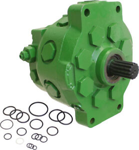 Amx4855 r Reman Hydraulic Pump For John Deere 2750 2955 3155 4050 Tractor