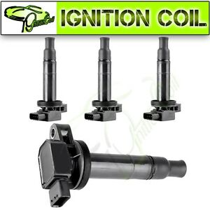 4 Ignition Coil Pack For Toyota Yaris Prius Echo Scion Xa Xb 1 5l L4 Uf316