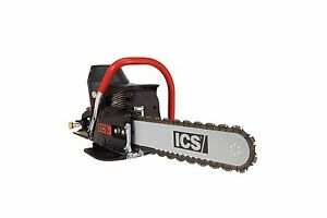 New Ics 576153 680es 14 Concrete Chainsaw With 14 Guidebar And Twinmax Chain