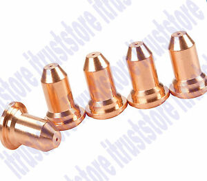 5 Pc Replacement Copper Welding Weld End 9mm Tips Head For Plasma Welder Cutter