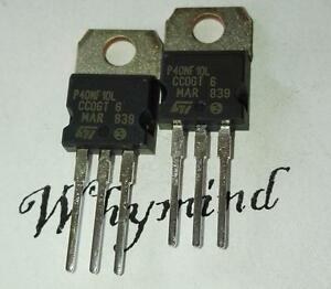 50 Pcs Stp40nf10l P40nf10l N channel 100v 40a Stripfet Power Mosfet To 220 New