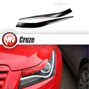 Front Eyelids Eyebrows Headlights Covers Var 2 For Chevrolet Cruze 2009 2014