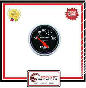 Autometer 2 1 16 Sport Comp Analog Transmission Temperature Gauge 3357