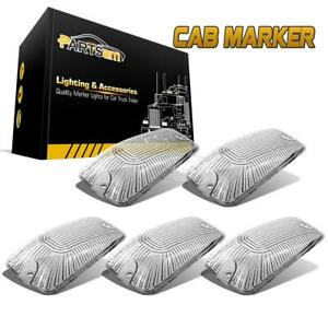 Cab Marker Roof Clearance Light Clear Lens Cover For Gmc K1500 K2500 K3500