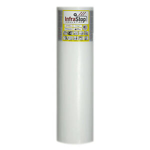 Infrastop 48 X 50 Single Bubble White Reflective Foil Insulation