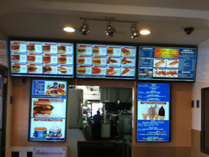 Electronic Menu Board W Our Free Dmb Software W Animated Picture Menu Design