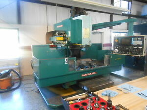 Matsuura Mc 1000 Vs2 Cnc Vertical Machining Center 3 axis Good Cond New 1985