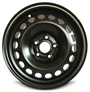 Replacement 15x6 Inch New Steel Wheel Rim Black For Chevrolet Sonic 2012 2016