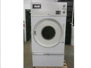 Cissell Commercial Dryer L36cd36g 4 Temp Settings Gas Heated 120 Volt 70 Lbs