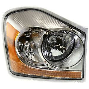 2004 2005 Dodge Durango Headlights Headlamp Right Passenger Side