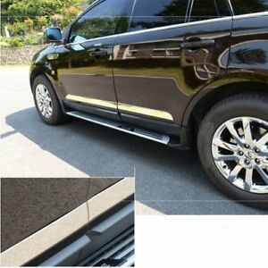 4pcs New Steel Body Door Side Sill Trim For Case Ford Edge Lincoln Mkx 2007 2012