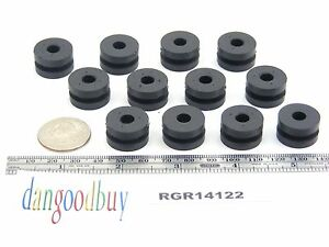100 Rubber Grommets 1 4 Inner Diameter Fits 1 2 Panel Hole