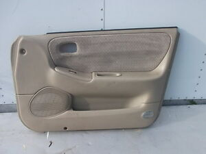 1998 2002 Mazda 626 Right Front Pass Side Door Panel Tan Gg2c68420b20a Oem