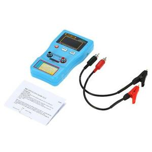 2 In 1 Digital Capacitor Esr Meter Capacitance Tester With Smd Test Clip M8f7