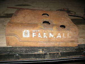 International Ih Farmall Tractor Hood Cowl Cover A B Super A B