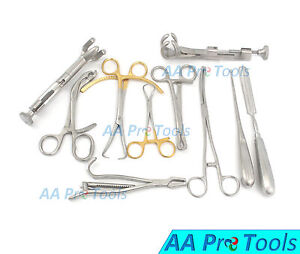 10 Assorted Orthopedic Surgical Instruments Custom Made Set O r Grade