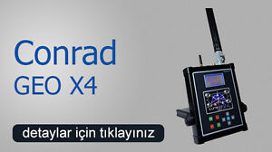 Geo X4 Ground Scanner 3d Detection Systems Conrad Detectors