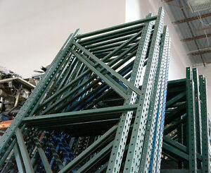 Pallet Racking Large Lot Of Warehouse Racking W Uprights And Beams Pallet Rack
