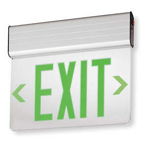 Acuity Lithonia Led Exit Sign With Battery Backup 2ygl1