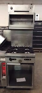 24 U s Range X24 4s Sunfire 4 Burner Gas Range W storage Base
