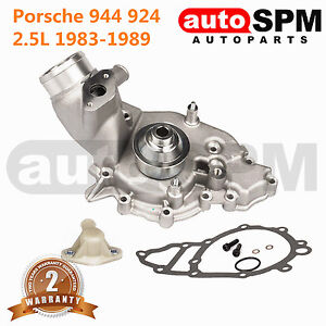 Fit Porsche 944 924 Water Pump 944s 924s Coolant Metal Pulley