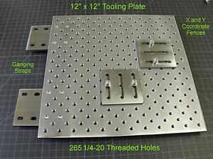 Steel Tooling Plate Coordinate System punch Press Brake milling optical tlplate1