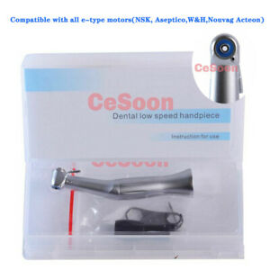 Dental S max Style Implant Handpiece Reduction 20 1 Low Speed Contra Angle