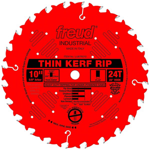 Freud Tools Lu87r010 10 Thin Kerf Rip Saw Blade