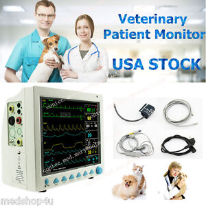 Cefda Veterinary Icu Vital Signs Patient Monitor 6 Parameter contec Cms8000 Vet