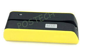 Magnetic Strip Credit Card Reader Writer Encoder Magnetic Stripe Usb Msr09 X6