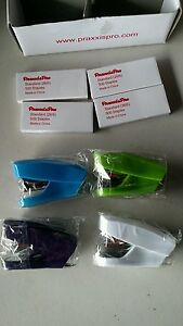 Praxxispro 4 Piece Stapler Mini With 2000 Staples New Assorted Colors Aria