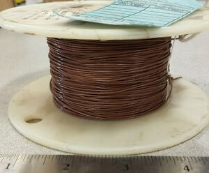 470 Ft 2844 7 7 Brown Cable Wire 24awg 19 Strand 36awg 600v
