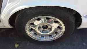 Jaguar Xj8 Vanden Plas 1998 1999 2000 2001 2002 2003 Set 4pc Chrome Wheels Tires