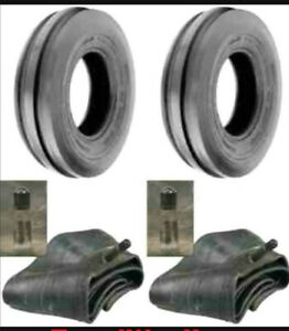 2 400x15 400 15 4 00x15 4 00 15 Allis Chalmer C 3 Rib Tractor Tires With Tubes