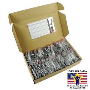 70value 1200pcs Electrolytic Capacitor Assortment Kit Us Seller Kitb0088