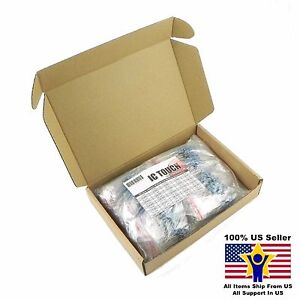 50value 1000pcs 1w Metal Film Resistor 1 Assortment Kit Us Seller Kitb0135