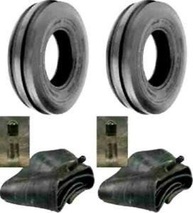 2 5 00 15 4 Ply Front Tractor Tires With Tubes 500 15 5 00x15 Rib Tri Rib