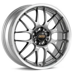 Bbs Rs gt Hyper Black With Polished Lip 20x8 5 38 5x112