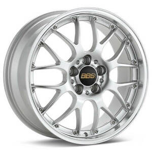 Bbs Rs Gt Hyper Silver With Polished Lip 18x8 5 38 5x120