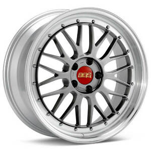Bbs Lm Black With Polished Lip 19x10 25 5x120