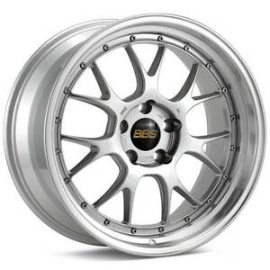 Bbs Lm r Silver With Polished Lip 19x8 5 55 5x130