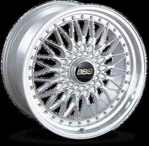 Bbs Rs Silver With Polished Lip 19x9 42 5x112