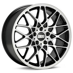 Bbs Rx R Black With Machined Face 19x8 5 45 5x112