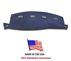 2002 Dodge Ram Pick up 1500 Blue Carpet Dash Cover Dash Board Mat Pad Do1 9