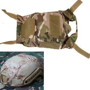 Tactical Airsoft Paintball Gear Fast Helmet Cover BJ PJ MH Multicam