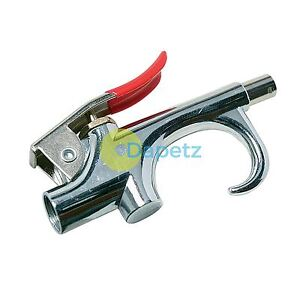 Air Blow Gun 140mm Dust Blower Airline Compressor Nozzle For Workshop Cleaning