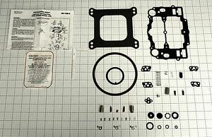 1400 1403 1404 1405 1406 1407 1409 1410 Edelbrock Carter Afb Carb Rebuild Kit